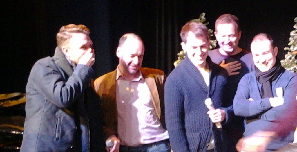 Only men aloud cropped